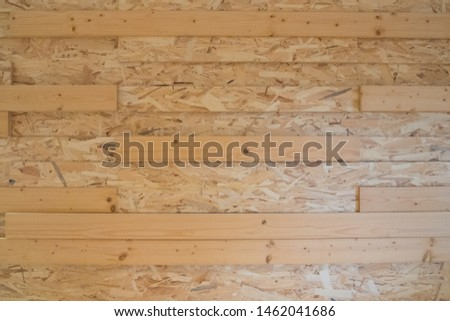 Recycled compressed wood chips plate, plywood texture #1462041686