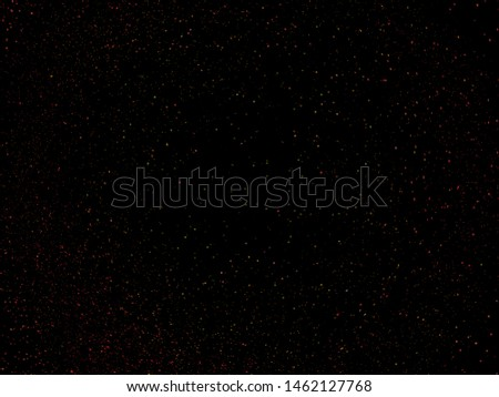 Starry night sky, A lot of Stars.  Background. Selective focus.Shallow dof. #1462127768