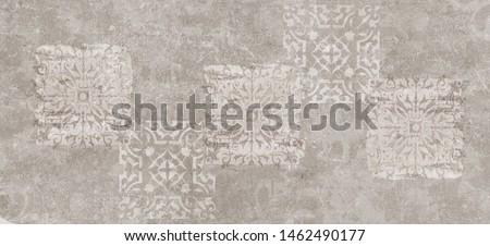 cement damask pattern background, cement damask digital tiles