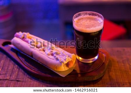 Beer & Hot Dog Bar Photography food Pasto Picante