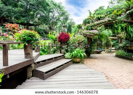 Garden flowers  #146306078