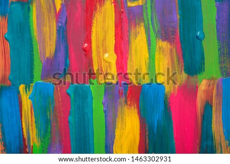 Abstract art background. Hand painted #1463302931