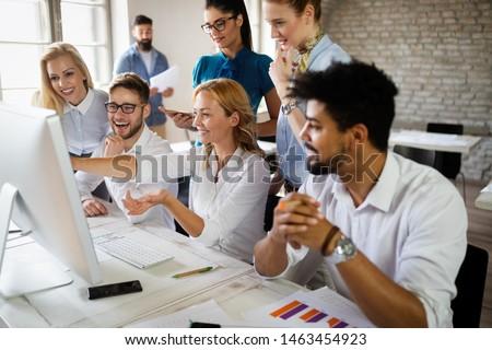 Startup Diversity Teamwork Business Brainstorming Meeting Concept #1463454923