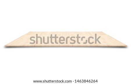 Wooden counters on a white background for placing #1463846264