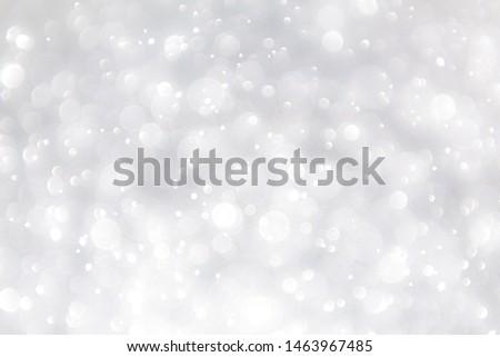 white blur abstract background. bokeh christmas blurred beautiful shiny Christmas lights, bokeh background #1463967485