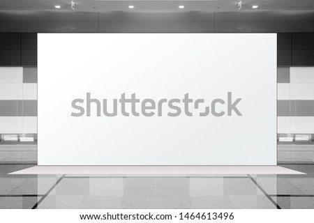 Fabric Pop Up basic unit Advertising banner media display backdrop, empty background, 16:9 Panoramic banner #1464613496