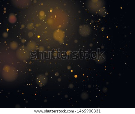 Texture background abstract black and white or silver Glitter and elegant for Christmas. Dust white. Sparkling magical dust particles. Magic concept. Abstract background with bokeh effect. Vector #1465900331