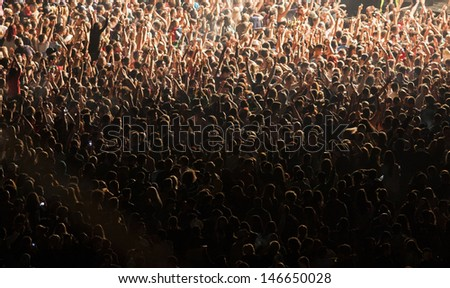 Crowd at concert #146650028
