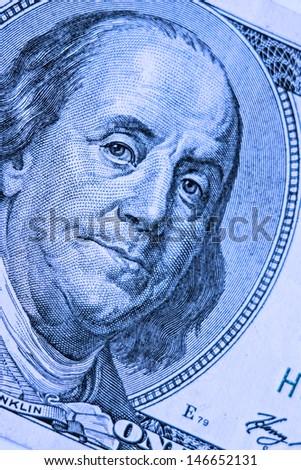 Close-up on Benjamin Franklin #146652131
