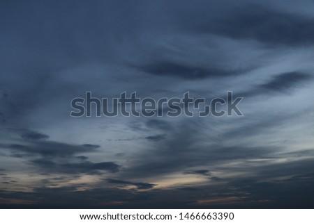 The sky is going to darken in the evening #1466663390
