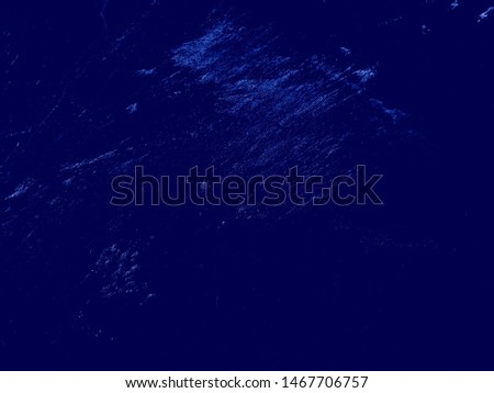 Monochrome texture, Art Stylized Blue Texture Effect. #1467706757