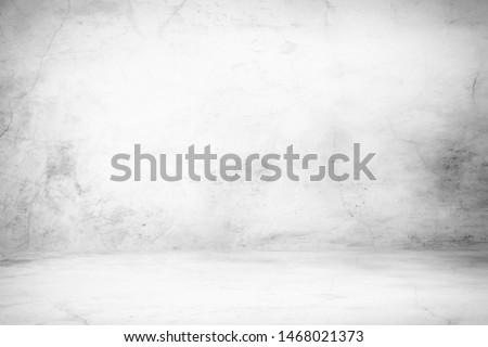Abstract Concrete Room Background Using for Product Presentation Backdrop. #1468021373