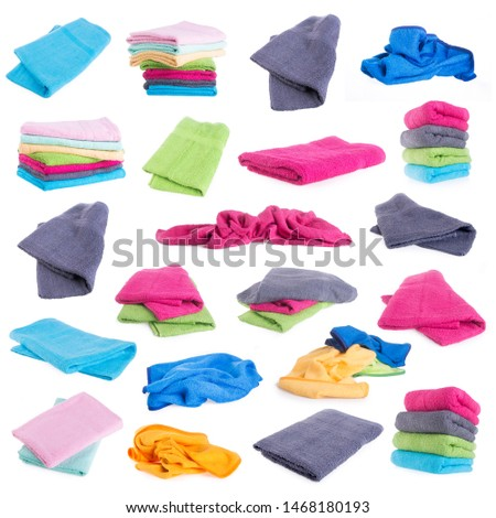 towel or bath towel on a background new #1468180193