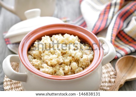 Wheat porridge #146838131
