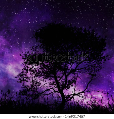 3D illustration of tree in nature #1469317457