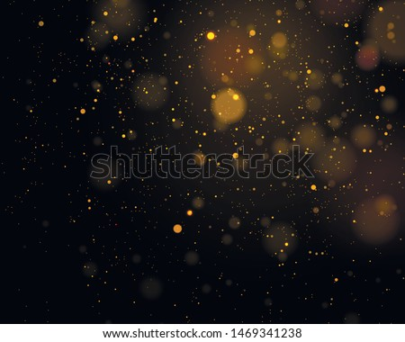 Texture background abstract black and white or silver Glitter and elegant for Christmas. Dust white. Sparkling magical dust particles. Magic concept. Abstract background with bokeh effect. Vector #1469341238