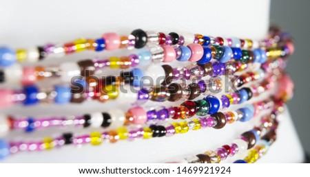 Assorted Waist Beads - African Waist Beads - Belly Chain - Belly Beads -Bead-African Waist Beads-Hip Ornament #1469921924