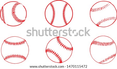 baseball icon on white background