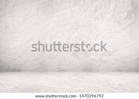 Abstract Concrete Room Background, Suitable for Product Presentation and Backdrop. #1470296792