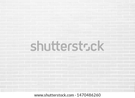 White brick walls can be used as a background. #1470486260