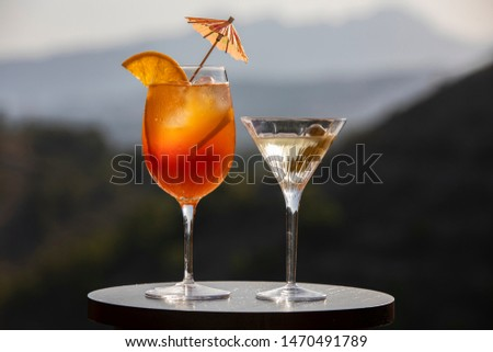 Alcoholic beverages. On summer bright, refreshing, filled with juicy fruit and sunshine, alcoholic beverages #1470491789