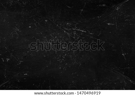 Old black grunge background. Dark wall. Blackboard. Grung #1470496919