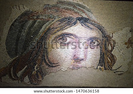 gypsy girl mausoleum in the zeugma #1470636158