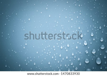 Drops of water on background #1470833930