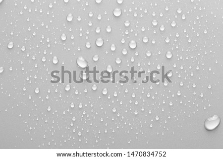Drops of water on background #1470834752