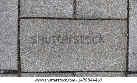 Cement Patio Texture And Pattern #1470844469