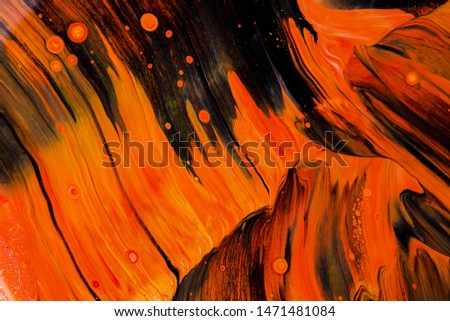 Abstract background of acrylic paints in color tones #1471481084