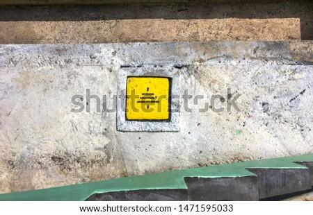 Installing grounding box next to MCC room #1471595033