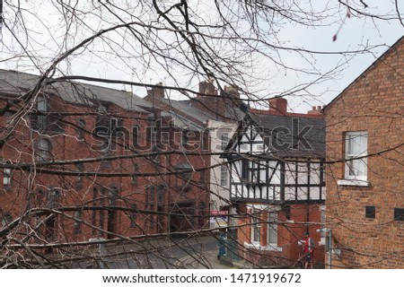 Chester village in UK, Europe  #1471919672