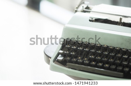 Old typewriters are ready to use #1471941233