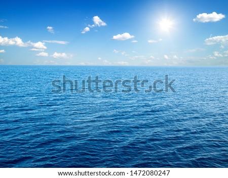 sea in Zanzibar beach. Natural tropical water paradise. nature relax. Travel tropical island resort.  #1472080247