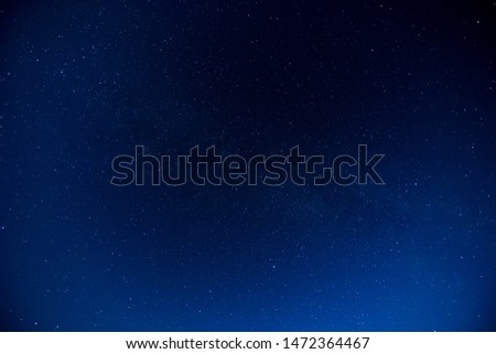 Starry Night Sky with a lot of Stars Background #1472364467