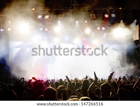 Crowd at concert #147266516