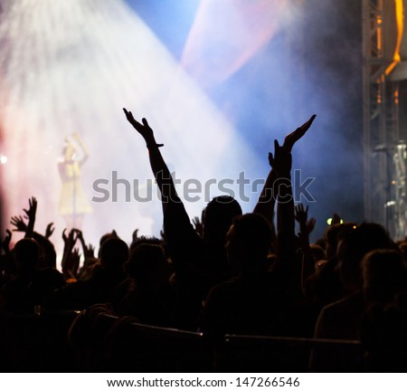 Crowd at concert #147266546