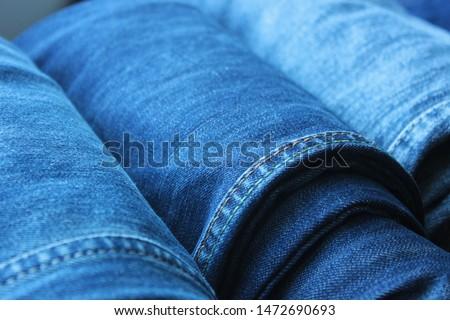 jeans texture. Denim. jeans texture. Jeans background. Denim texture or denim jeans background. #1472690693