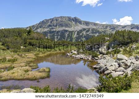 Landscape near The Fish Lakes (Ribni Ezera), Rila mountain, Bulgaria #1472749349