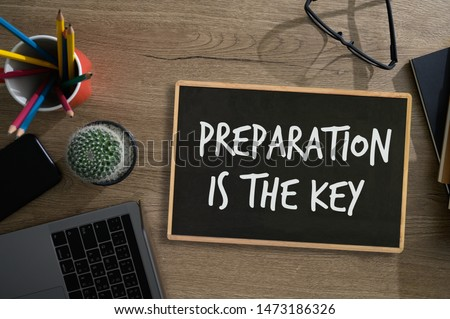 BE PREPARED and PREPARATION IS THE KEY plan, prepare, perform #1473186326