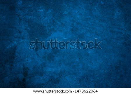 Blue texture background. Blue Grunge