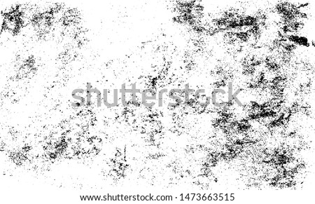 Uneven black and white texture vector. Distressed overlay texture. Grunge background. Abstract textured effect. Vector Illustration. Black isolated on white background. EPS10.