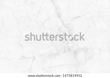 White grey marble texture background in natural pattern with high resolution, tiles luxury stone floor seamless glitter for interior and exterior. #1473814952