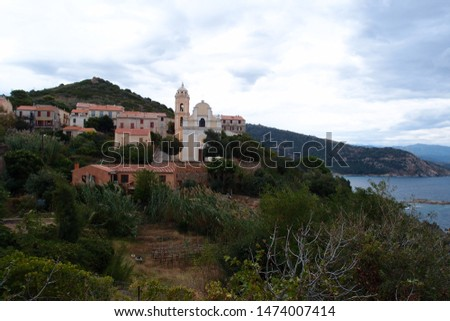 Small villages of Corsica island #1474007414