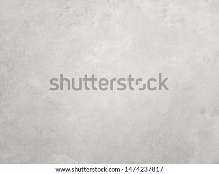 Concrete walls with abstract patterns. Old cement texture in vintage style for graphic design or retro wallpaper. Clean background for interior decoration. Loft type masonry found in rural areas. #1474237817