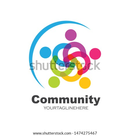 leadership,community,social and company Logo icon vector design #1474275467