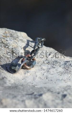Climbing, climbing equipment, grip, draw, rope, mountain, mountaineering #1474617260