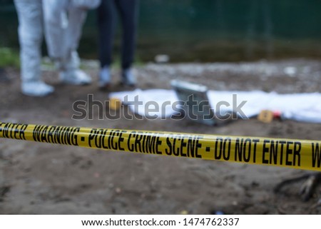 Crime scene investigation  forensic equipment #1474762337