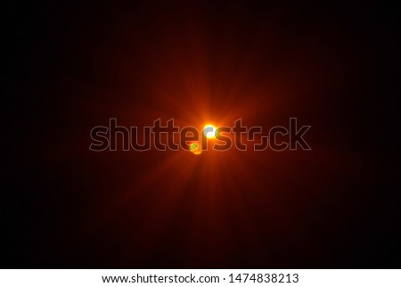 Light effect with abstract forms. Illumination art and light design. #1474838213